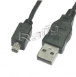 Kabel USB mini Toshiba 1,8M 2.0